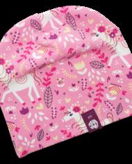 Kinder_Mützen_Pferd-pink