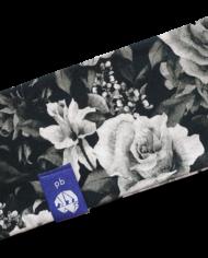 Stirnband_Erwachsene_Blumen-schwarzweiss