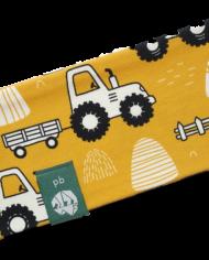 Stirnband_Kinder_Traktor-gelb