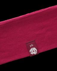Stirnband_Pink-Rot Gestreift