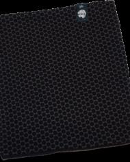 Schwarz mit Punkten